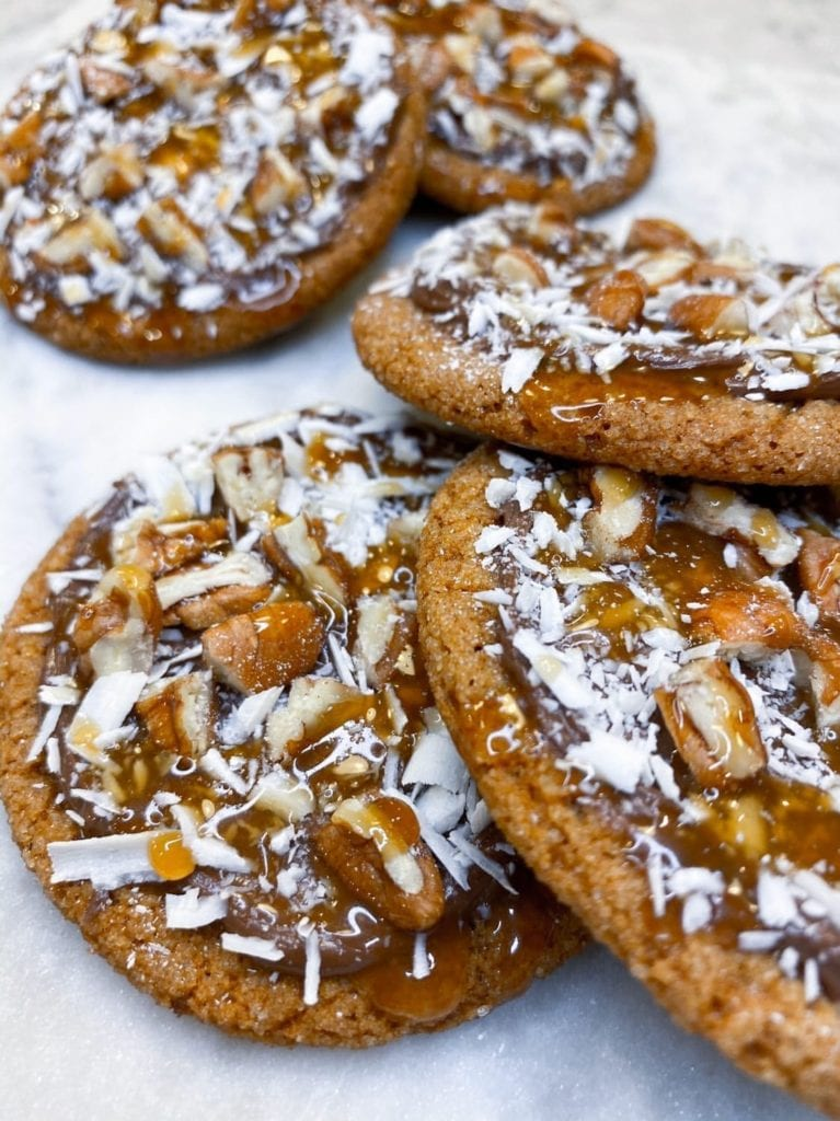 Nutella Gingerbread Cookie
