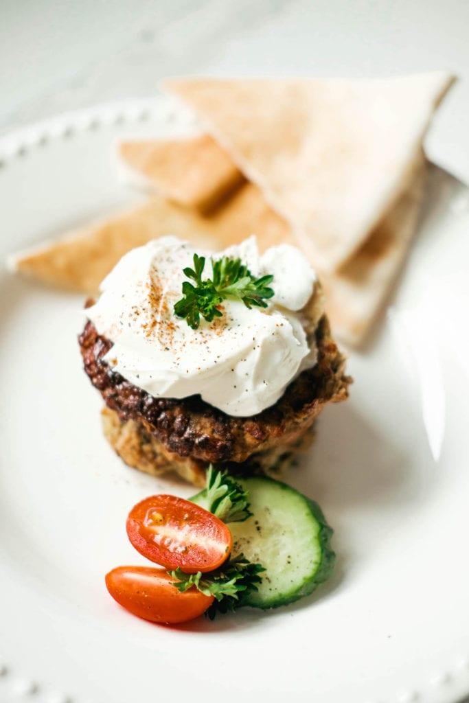 Chicken Kafta burger