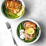 crunchy Thai salmon