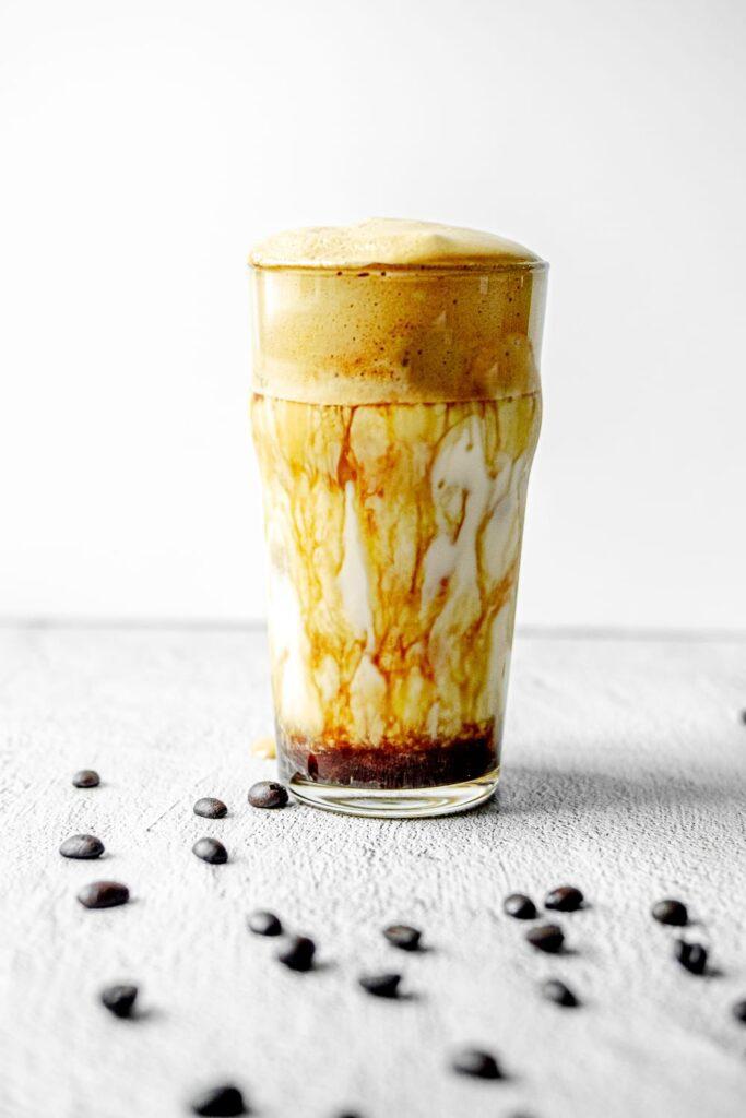 whipped espresso