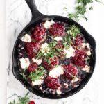 raspberry jelly meatball skillet