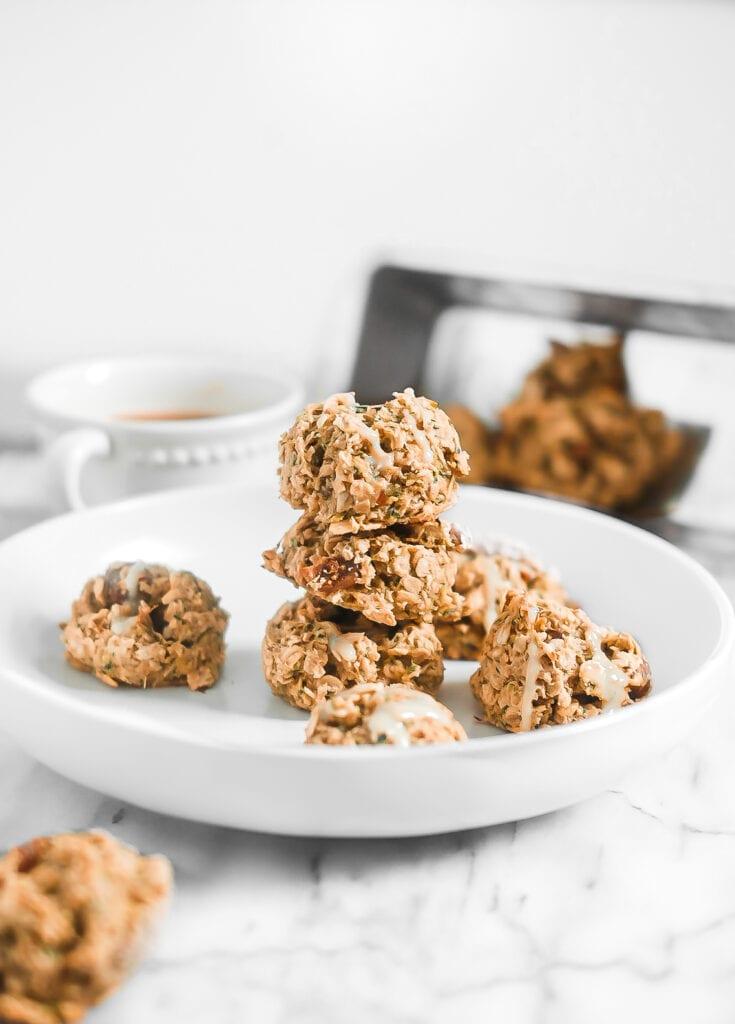 stack of breakfast cookies