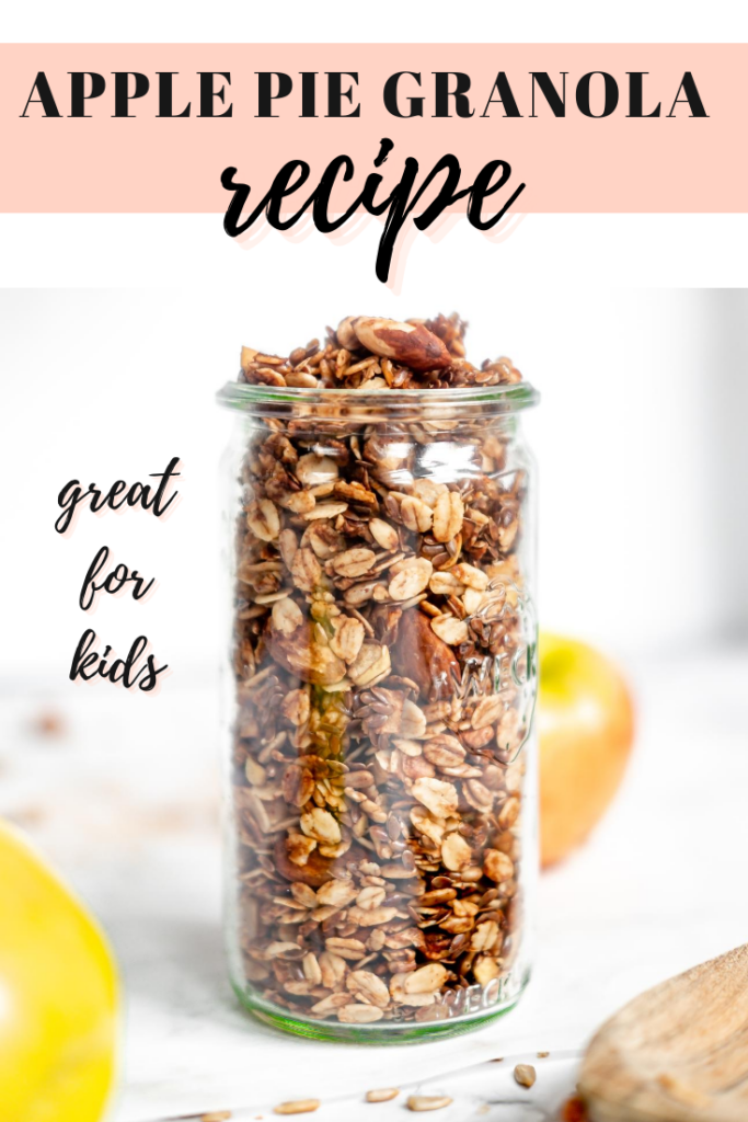 Pin for apple pie granola