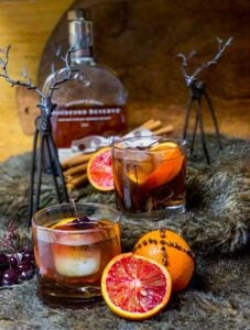 bourbon blood orange cocktail