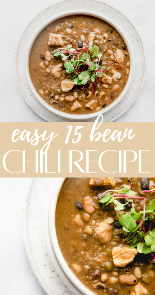 15 bean soup pin image