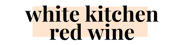 White Kitchen Red Wine logo