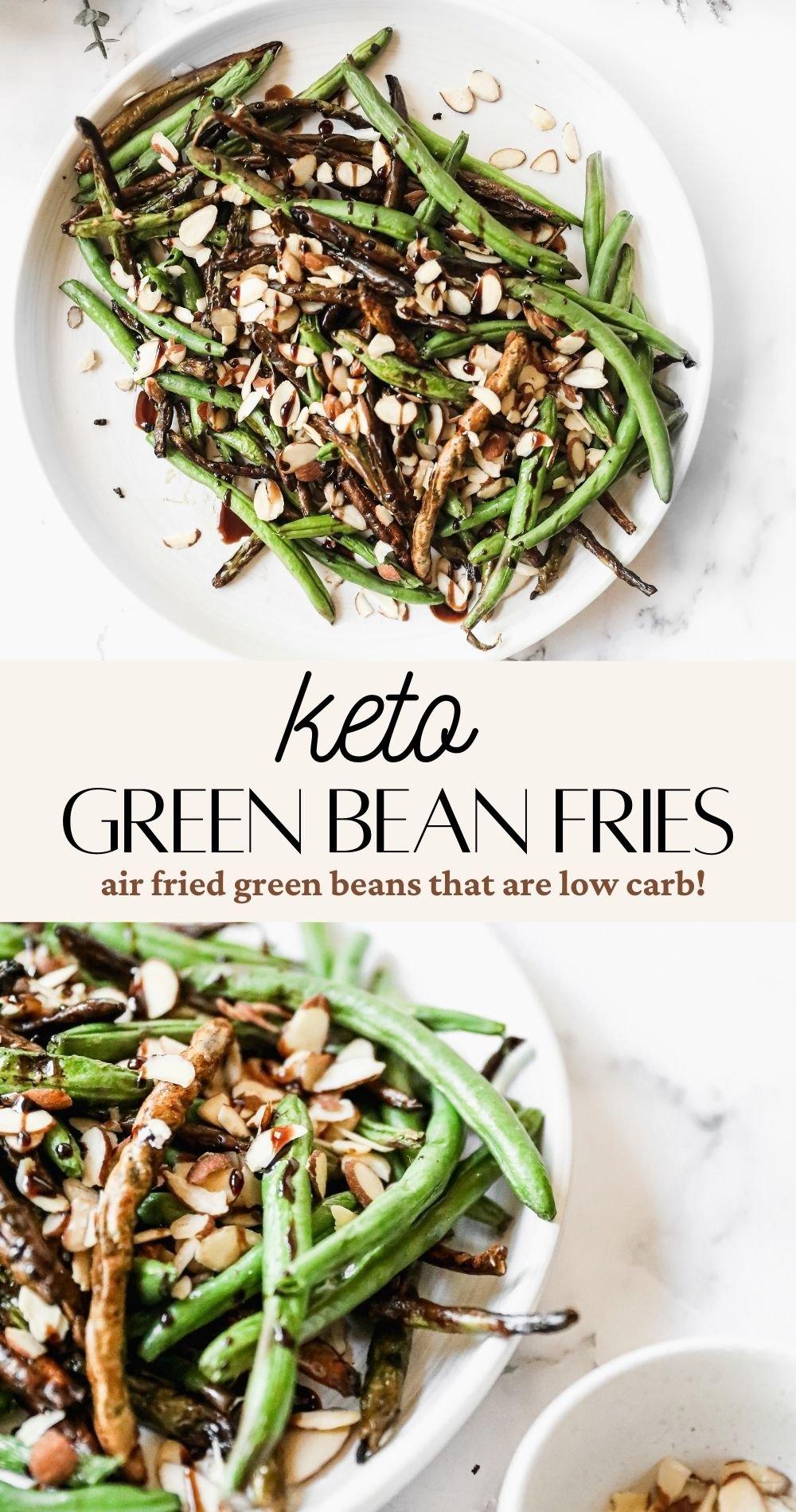 green bean fries pin image