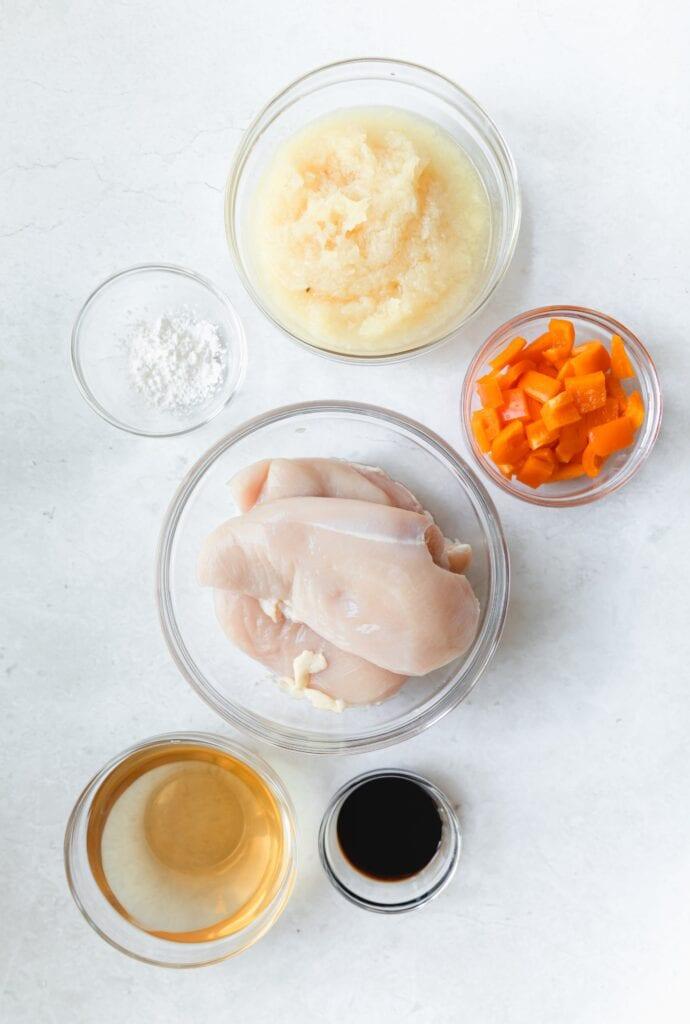 ingredients for Hawaiian chicken