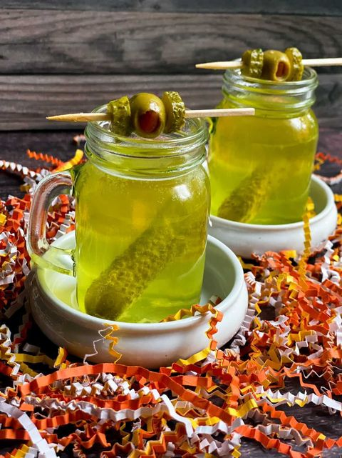 pickle juice halloween shot